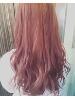 fairyピンクカラー【miel hair blanc】