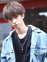 リップス 渋谷(LIPPS)チョコレートアッシュで甘めな冬髪【ラフカジュアルマッシュ】