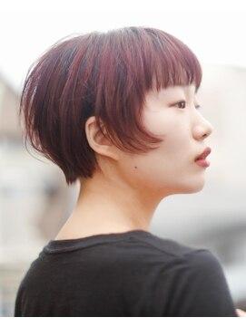 ニコヘアー(niko hair)ベリー系☆ピンクパープル▼LINEID@vey3047y