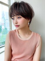 シェルハ(XELHA)アフロート斎藤 マッシュショート大人ヘア20代30代髪型