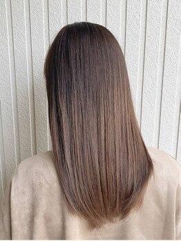 ヘアーサロン ミマ(Hair Salon MIMA)の写真/【諫早駅徒歩3分】≪N.カラー取扱い☆≫自然由来の恵の力×抜群のセンスで、貴女のキレイを徹底サポート♪