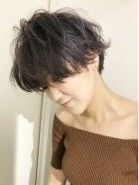 チクロヘアー(Ticro hair)ticro 大石curly mash short