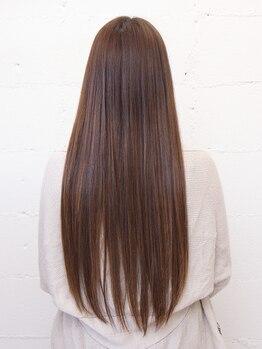 ベレッタ 樟葉(veretta.)の写真/あなたのクセの悩み縮毛矯正をしなくても改善できます!ダメージ0で収まりの良いヘアを手に入れましょう♪
