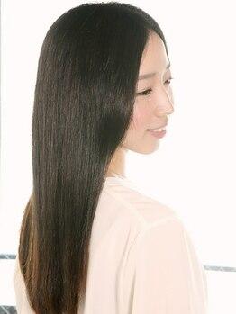 リーリア ヘアーアンドパーソナル(Lelia)の写真/パサつき、ひろがりを抑えるOggiotto取扱い。希少なオーダーメイドトリートメントで美しい髪に。