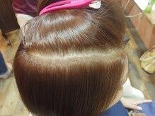 キアンティ 市川店(Ki anty)の雰囲気(究極の白髪染め「イチゴカラー」明るめでもしっかり染まります!)