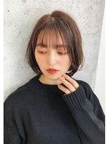 ユーフォリアギンザ(Euphoria GINZA)大人可愛い☆ナチュラル小顔ボブ デジタルパーマ担当畑
