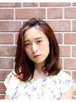 クッカ(kukka)【kukka 楠 留美】ワンカールパーマ☆ミディアム
