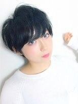 エトネ ヘアーサロン 仙台駅前(eTONe hair salon)【eTONe】ショート甘めヘア