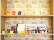 ☆厳選されたカラー剤やパーマ剤、ヘアケア剤☆