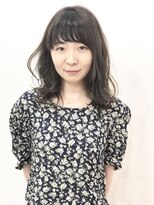 エトネ ヘアーサロン 仙台駅前(eTONe hair salon)【eTONe】後ろ下がりミディアム