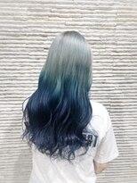 ビス ヘア アンド ビューティー 西新井店(Vis Hair&Beauty)寒色系グラデーションカラー