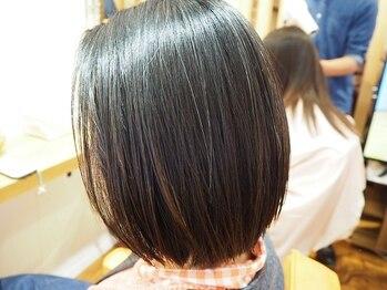 リワール 縮毛矯正専門店の写真/カラーと縮毛矯正が、ダメージレスに同時施術できるのは専門店ならでは!お得なクーポンあります★