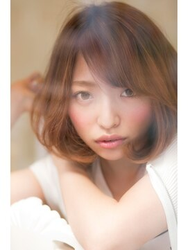 ブリッジ バイ ネオリーブ 綱島店(bridge by neolive)☆大人の透明感ミディボブ☆