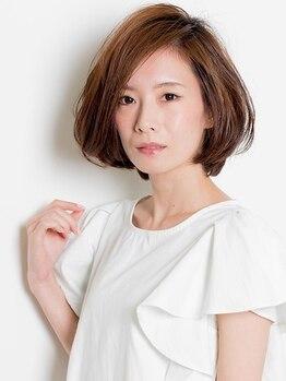 """プログレス 東村山店(PROGRESS)の写真/骨格を見て髪質を活かし計算して創り出す""""スタイリスト""""の海外研修で培った高度なカットテクニック!"""