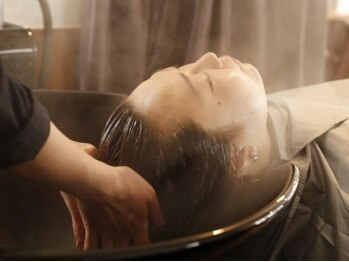 ヘアースニップ(Hair Snip)の写真/【大井町隠れ家サロン】忙しいあなた!頭皮をリフレッシュしませんか?ナノスチームイオンで癒しスパを♪