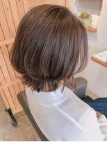 キートス ヘアーデザインプラス(kiitos hair design +)ボブレイヤー