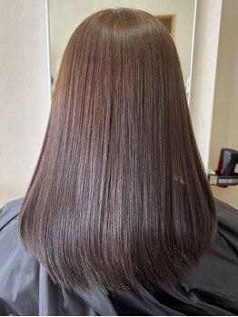 """美髪のとりこの写真/健康な頭皮環境と美しい髪を創り上げる施術に満足度◎マンツーマンであなたの""""美""""を叶えます。"""