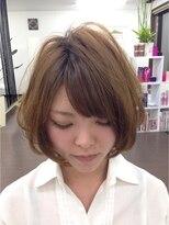 マクロヘアー(macro hair)ナチュラルボブ