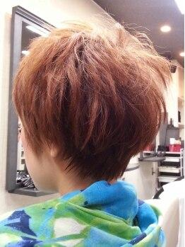 ヘアコンシェル ミューオン(Hair conciel μ+)の写真/40~50代の大人女性に大人気☆低刺激な温感トリートメント成分配合カラー!艶感たっぷりの仕上がりに♪