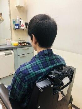 理容アヅマの写真/[メンズカット¥3200]施術の速さとハイクオリティーにメンズ評価◎毎月通いたいメンズカットはココで!