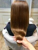 ブレスヘアーデザイン(BLESS HAIR DESIGN)ブリーチ毛×美革ストレート(縮毛矯正)