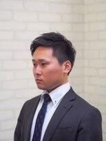 メンズ レオ 天六店(men's LEO)【ビジカジ】アップバング刈り上げショート
