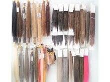 ヘアサロンアネラ 新宿店(Hair Salon ANELA)の雰囲気(最高級人毛編み込み&シールエクステ☆全30色ご用意ございます☆)
