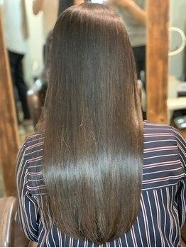 ヘアメイクルーボ(HAIR MAKE Lu bo)の写真/【早稲田駅徒歩1分】≪学割U24/学生限定クーポンあり≫髪質改善&美髪縮毛矯正特化サロンで素髪から美しく♪