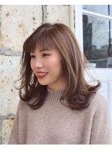 サピュエ ヘアサロン(S'appuyer hair salon)外ハネ