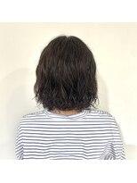 ヘアーアイストゥーレ(HAIR ICI TRE)ショートボブ パーマ