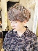 ジアン NU茶屋町+(GIEN)K-POPアイドルメンズマッシュスタイル