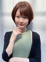 トゥーナ 表参道(tona)20代30代40代50代60代ショートパーマ黒髪ピンクベージュボブ