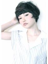 LAUREN☆黒髪マッシュショートtel0112328045