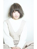 エトネ ヘアーサロン 仙台駅前(eTONe hair salon)【eTONe】小顔グレージュボブ