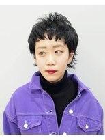 エイム ヘアメイク 横川店(eim HAIR MAKE)eim で叶える♪オシャレな黒髪☆マッシュウルフ
