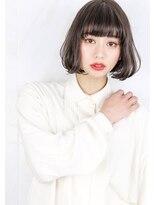 ヘアサロン ガリカ 表参道(hair salon Gallica)『 グレージュ × 毛束感 』外国人風 小顔 切りっぱなしボブ☆