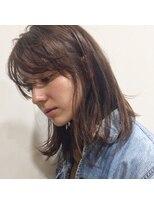 ガーデン ハラジュク(GARDEN harajuku)切りっぱなし ミディ × シナモンベージュ【鈴木 ゆうすけ】