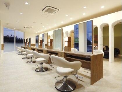 アース 熊本嘉島店(HAIR&MAKE EARTH)の写真