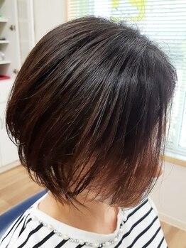 ヘアーサロン ミマ(Hair Salon MIMA)の写真/バーバーならではの精巧なカットは、今までにない未体験の、美しいショートスタイルを実現します♪