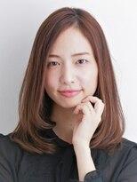 フィンセント 新高円寺店(VINCENT)艶髪まとまるストレートヘア /30代40代おすすめ大人セミロング