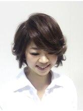 ヘアメイク ケイ(hair make KEI)マット系アッシュで多い髪も