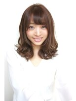 ヘアーメイク リアン 新田辺店(Hair Make REAN)◆REAN 京田辺/新田辺◆毛先カールのくびれセミディ
