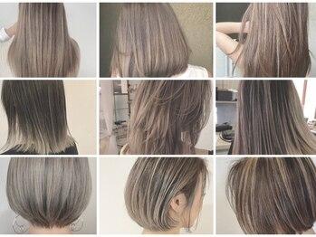 ブロッサム 上福岡店(Blossom)の写真/選べるカラーでワンランク上の輝きに!高いダメージ軽減率で髪の状態を考えたケアでなりたい色を叶える☆