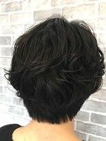 ヘアーメイク プリュム(Hair make Plume)ショートスタイル×パーマ