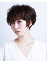 サラビューティーサイト 志免店(SARA Beauty Sight)クールな中に可愛さのマニッシュショート