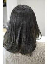 ヘアーデザイン キャンパス(hair design Campus)【グラデーションベースから濃厚ON♪】シャンディグレー