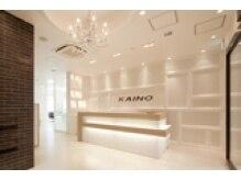 カイノ 天王寺店(KAINO)の雰囲気(【エントランス】白を貴重とした洗練された空間。)