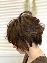 エリア(area)髪質改善、イルミナカラー、大人ショート