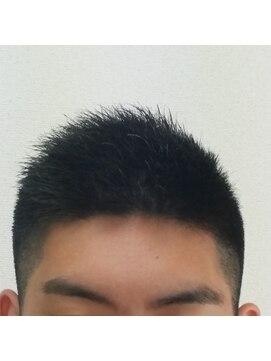 イーストフィールド髪の毛の 多くて硬い方 のショート