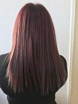 【LoLo hair】レッドヘアカラー